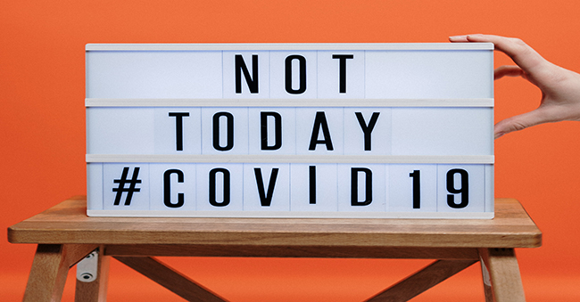 BÜhnenbild: not today #covid 19